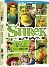 Shrek The Ultimate Collection Blu-ray (No Digital) 6 Movies DreamWorks Animated