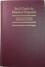 Sex & Gender in Historical Perspective Quaderni Storici Ruggiero Johns Hopkins