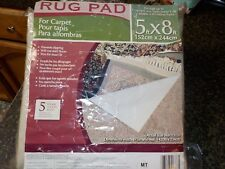 Vantage Industries 5ftx8ft Rug Pad-Prevents Slipping