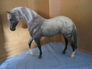 Breyer Traditional Horse THUNDERBOLT Dapple Grey Appaloosa Foundation mold EXC
