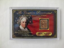 THE COMPLETE PRESIDENTIAL STAMP COLLECTION - MARTHA WASHINGTON - NEW