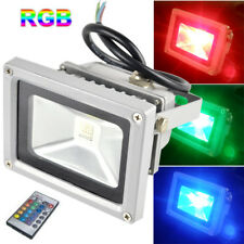 US 10W RGB LED Flood Light Color Changing Outdoor Floodlight Home Garden Lamp