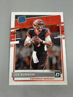 Joe Burrow 2020 Panini Donruss Optic 🏈 Base Rated Rookie RC #151 Bengals