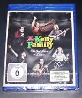 THE KELLY FAMILY WE GOT LOVE LIVE KONZERT + MAKING OF + 2 VIDEOS BLU RAY NEU OVP