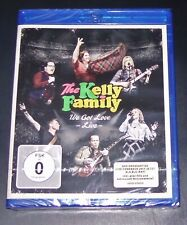 THE KELLY FAMILY WE GOT LOVE LIVE KONZERT + MAKING OF + 2 VIDEOS BLU RAY NEU OVP