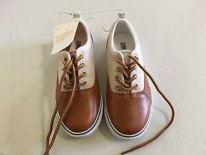 NWT Gymboree Boy Dress Shoes Tan Brown Sneakers 9,11,1