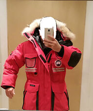"2018 ""RED LABEL"" HOLOGRAM TAG ""RED"" CANADA GOOSE SNOW MANTRA MEN L PARKA JACKET"