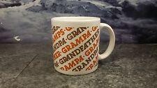 Vintage GHC Grandpa & Grandfather Ceramic Coffee Mug Cup England  New Unused