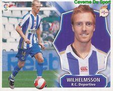 CHRISTIAN WILHELMSSON SWEDEN RC.DEPORTIVO STICKER LIGA ESTE 2009 PANINI
