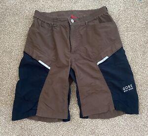 Men's Gore Bike Wear, brown shorts, M