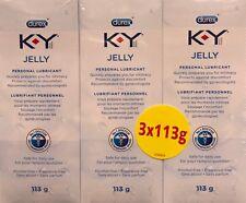 Durex Personal KY K Y K-Y Lubricant Jelly Lube Sex Gel Suit With Condom 113gX3