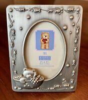 "Burnes Of Boston Baby Child Frame Pewter 2.5"" X 3.5"" New"