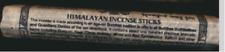 Himalayan Incense Sticks, Tibetan Style Incense From Nepal, Saffron/Sandalwood