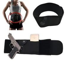 Concealed Belly Band Right Hand Gun Waist Pistol Holster for Glock G17 19 22 23