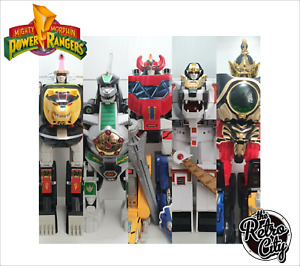 Vtg MMPR Mighty Morphin Power Rangers Megazords & Accessories Spare Parts 90s