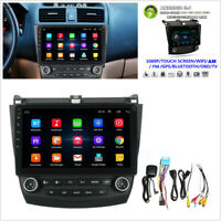 10.1'' Android 9.1 Quad-core Car Stereo WIFI GPS Player For Honda Accord 2003-07