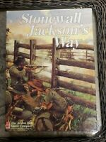 Stonewall Jackson's Way -Avalon Hill 1992 UNPUNCHED  Tactical War Game