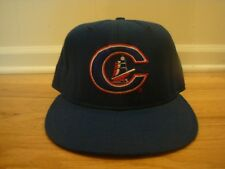 VTG Columbus Clippers New Era 7 1/4 hat cap 90s retro game used? Wool old logo