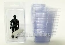 GI JOE BLISTER CASE LOT OF 20 Action Figure Display Protective Clamshell MEDIUM