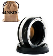 Focal Reducer Speed Booster Adapter Nikon G mount F AF-S lens to Sony NEX A6000