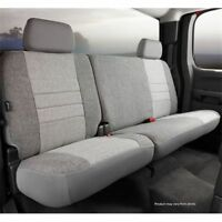 Taupe Tweed Fia OE32-37 TAUPE Custom Fit Rear Seat Cover Split Seat 60//40