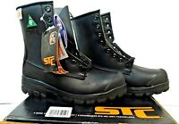 """STC 21986 8"""" Height Work Boots with Steel Toe & Thinsulate Black - Men's Size 7"""