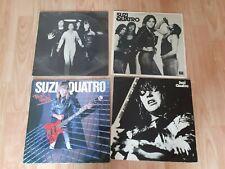 4 x suzi quatro vinyl LPs aggro phobia / rock hard / your mama
