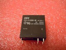 5pcs Relay DPST 12VDC 3A Through Hole PCI-212DMM