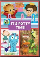 PBS It's Potty Time Cartoons POTTY TRAINING Peg And Cat Daniel Tiger DVD New