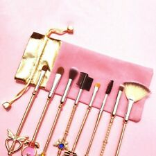 Sailor Moon 8Pcs Make Up Brushes Set Face Powder Contour Foundation Cosmetic