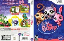 Littlest Pet Shop Nintendo Wii COMPLETE Case Manual and Game Disc LPS