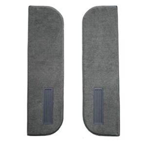 Carpet for 1974 Chevrolet C10 Door Panel Inserts on Cardboard w/Vents 2Pc