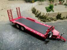 GREENLIGHT flat bed trailer 1/64 scale DCP farm diorama car hauler Hitch Tow