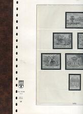 Lindner Vordrucke Vatikan  1975-80 - in rotem  Ringb. u. Schuber  ( Z556 )
