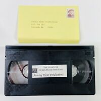 Complete Nickel Plate Berkshires: Sunday River Productions VHS Vintage Clamshell