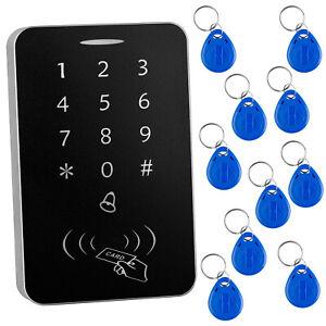 RFID EM Card Tag Key Reader Password PIN Code Keypad Door Lock Access Control