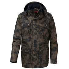OCK Herren Outdoorjacke Jacke Tarnjacke Kapuzenjacke Camouflage atmungsaktiv NEU