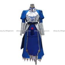 Fate Zero Fate stay night King Saber Uniform COS Cloth Cosplay Costume
