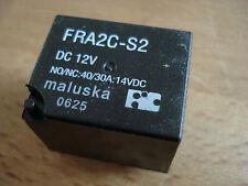 Relais Relay Maluska FRA2C-S2 (FRA12WD) 12V 90 Ohm - 1x UM 30A waschdicht