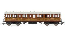 R4517B Hornby 00 Gauge LNER Gresley (LAV) Suburban Composite Coach Teak 32480