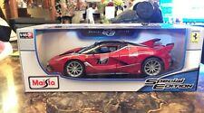 Maisto 1:18 Scale Model Car /  46629 / Ferrari FXX K - Red (Diecast)