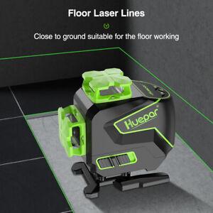 Huepar 16 lines 4D Cross Line 4*360 Self-leveling Green Beam Lines Laser Level