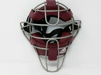 Adidas Pro Issue Adult Baseball Catchers Umpires Mask Maroon S13292