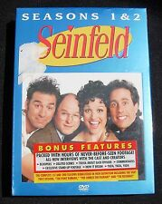 SEINFELD Seasons 1 & 2 ~  Sealed DVD ~ With Bonus Features