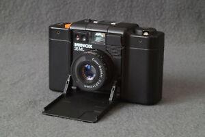 Minox 35 ML Kompaktkamera 1987 Vintage mit Tasche - Voll funktionsfähig