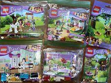 LEGO Friends Olivia's Foal (41003), AND Kits 3938, 41017, 41023, 41002, 30105