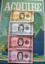 1962-95 ACQUIRE Game Reproduction Play Money (1968 Style)