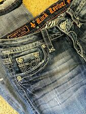 Rock Revival cameron Flare Denim women jeans size 28