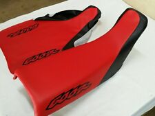 HONDA XR600R 1998 MODEL SEAT COVER BLACK & RED FITS SEAT 1993 TO 2012 (H261-n10)