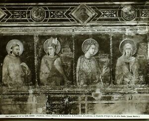 C1900 Alinari Original Foto Gelatine Silber Assisi No. 5319 Firenze